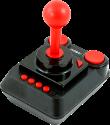RETRO GAMES TheC64 - Mini Joystick - Für C64 Mini/PC/Mac/Linux - Schwarz