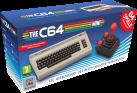 RETRO GAMES TheC64 Mini - Konsole + USB Joystick - PAL- und NTSC-Modus - Weiss