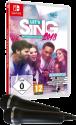 Let's Sing 2018 mit Deutschen Hits + 2 Mics, Switch [Versione tedesca]