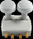 Smart TMQ Quad LNB - Monoblock - 58 dB - Weiss