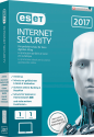 ESET Internet Security 2017 Swiss Edition, 1 User, multilingual