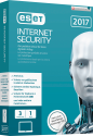 ESET Internet Security 2017 Swiss Edition, 3 User, multilingual
