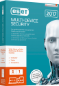 ESET Multi Device Security 2017 Swiss Edition, PC/MAC, 5 User, multilingue