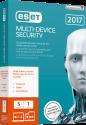ESET Multi Device Security 2017 Swiss Edition, PC/MAC, 5 User, multilingual