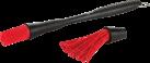 Genius Pennello decapante XL - Set 3 pezzi - Nero/Rosso