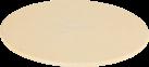 Genius Pierre à pizza avec étagère - Ø 32 cm - Beige