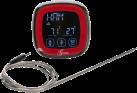 Genius Thermomètre barbecue - Plage de mesure: 0-250 C ° - Rouge/Noir