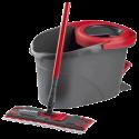 vileda Easy Wring & Clean Wischmop - Schwarz/Rot