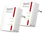 AVM FRITZ!Powerline 510E Set - Powerline-Adapter - 500 MB/s - Weiss