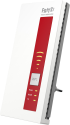AVM FRITZ!WLAN Repeater DVB‑C - Repeater - 1300 MB/s - Weiss/Rot