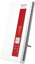 AVM FRITZ!WLAN Repeater DVB‑C - Repeater - 1300 MB/s - Bianco/rosso