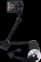 veho 3-Weg-Einbeinstativ mit verlängertem Arm
