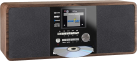 Imperial DABMAN i200 CD - Internet-Radio - DAB+ - Braun