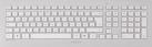 CHERRY DW 8000 - Tastatur und Maus - kabellos - Weiss / Silber