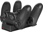 SPEEDLINK JAZZ USB - Base de recharge - Pour manettes originales PS4 - Noir