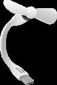 SPEEDLINK AERO MINI - USB-Ventilator - Flexibler Hals - Weiss