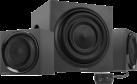 SPEEDLINK Quanum - 2.1 Lautsprechersystem - 70 W - Schwarz