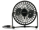 SPEEDLINK TORNADO USB Desk Fan - USB-Ventilator - Schwarz