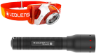 LED LENSER SEO 3 Orange+P5.2 SET