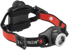 LED LENSER H7R.2 - Lampada frontale - 300 lm - Nero/Rosso
