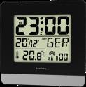 technoline WT 260 - Radiosveglia - Visualizzazione calendario - nero / argento