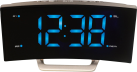 technoline WT 460 - radio sveglia - display a LED - nero / blu