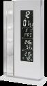 technoline WS 6600 - Wetterstation - Quarzuhr - Weiss
