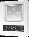 technoline WS 6620 - Wetterstation - Funkuhr - Weiss