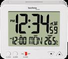 technoline WT 195 - Orologio radio - Indicatore di temperatura interna - Bianco