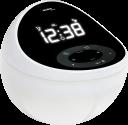 technoline WT 500 - Réveil à quartz - 2 alarmes programmables avec rappel d'alarme - Noir/Blanc
