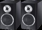 HECO Elementa 300 - Lautsprecher-Paar - Max. 150 W - Schwarz