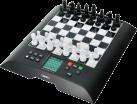 MILLENNIUM Chess Genius - Schachcomputer - Spielstärke: über 2000 ELO - Schwarz/Weiss