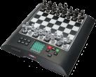 MILLENNIUM Chess Genius Pro - Schachcomputer - Spielstärke: 2200 ELO - Schwarz/Weiss