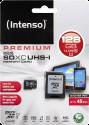 Intenso 3423491 - Carte Micro SDXC - 128 Go - Noir