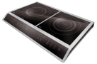 caso ECO3400 - Double plaque à induction - 3400 Watts - Noir