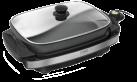 caso TG 300 - Grille viande de table - 1800 Watts - Surface de grillade 38 x 27 cm - Noir