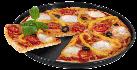 caso CrispyWave - Pizzablech - Schwarz