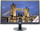 AOC G2460FQ - Gaming-Monitor - Display 24 / 61 cm - nero