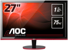 AOC G2778VQ - Gaming-Monitor - Display 27 / 68.6 cm - Schwarz/Rot