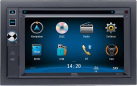 """Mac Audio Edition 620 - Multimedia-Receiver - 16 cm / 6.2"""" Digital-TFT-Monitor - Grau"""