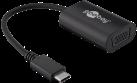 goobay USB-C/VGA - Adapter - 0.2 m - Schwarz