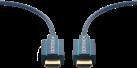 clicktronic Cavo HDMI attivo - 25 m - Blu