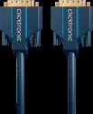 clicktronic DVI-D Verbindungskabel - 5 m - Blau