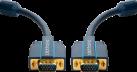 clicktronic VGA Verbindungskabel - 1 m - Schwarz