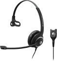SENNHEISER SC 230 - Einseitiges On-Ear Headset - Mit Easy Disconnect-Stecker - Schwarz