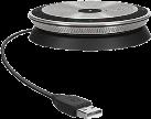 SENNHEISER SP 10 - Speakerphone - USB 2.0 - Schwarz/silber