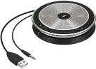 SENNHEISER SP 20 - Speakerphone - USB 2.0 - Schwarz/silber