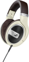 SENNHEISER HD 599 - Over-Ear Kopfhörer - Ergonomic acoustic refinement (E.A.R.) - Elfenbein/Braun