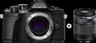 OLYMPUS OM-D E-M10 Mark III - Appareil photo hybride - Body + objectif (M.ZUIKO DIGITAL ED 14‑150mm 1:4.0‑5.6 II) - Noir