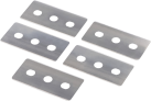xavax Lame di ricambio per raschietto speciale - Per piani di cottura in ceramica - Argento